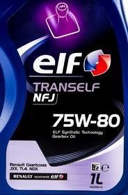 Трансмиссионное масло Elf Tranself NFJ GL-4+ 75W-80 полусинтетическое