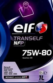 Трансмиссионное масло Elf Tranself NFP GL-4+ 75W-80 синтетическое