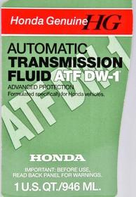 Трансмиссионное масло Honda / Acura ATF DW-1 синтетическое