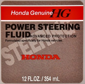 Трансмиссионное масло Honda / Acura Power Steering Fluid