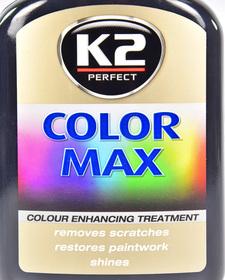 Цветной полироль для кузова K2 Color Max (Black)