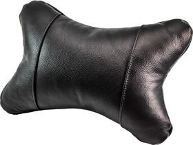 Подушка-подголовник Kerdis черная без логотипа 4820198830014