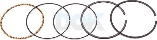 Kolbenschmidt 800026110000 комплект поршневых колец