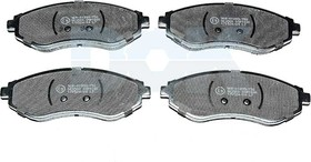 Тормозные колодки LPR 05P1080
