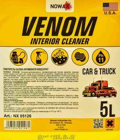 Очиститель салона Nowax Venom Interior Cleaner 5000 мл