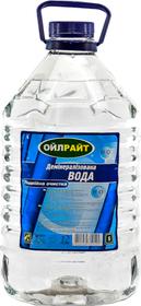Дистиллированная вода Oil right