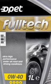 Моторное масло Opet Fulltech 0W-40 синтетическое