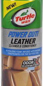 Очиститель салона Turtle Wax Power Out! Leather Cleaner & Conditioner 400 мл