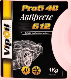 Антифриз VIPOIL Profi 40 G12 красный