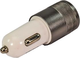 USB переходник на прикуриватель XoKo 2 USB CC-200-BKWH