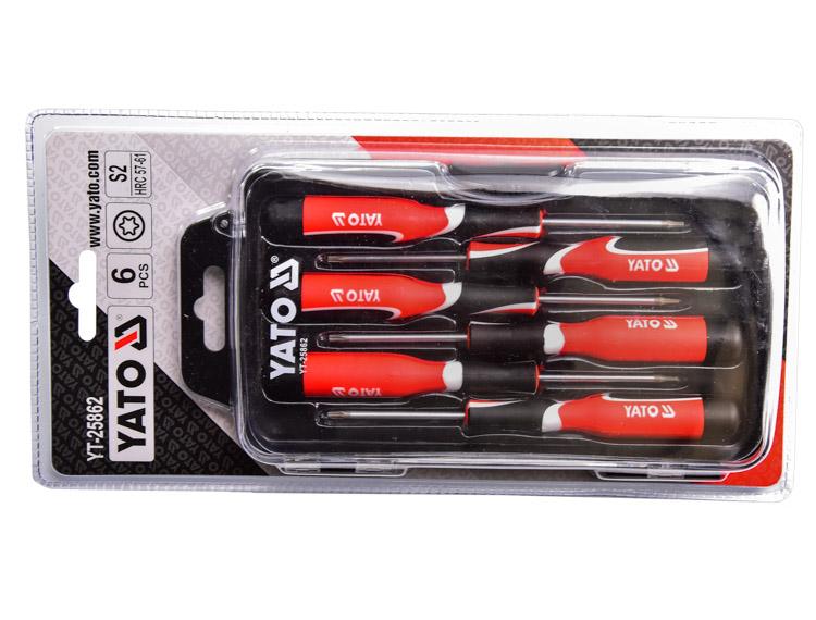 Купить Наборы инструментов, Набор инструментов Yato YT-25862 6 ед.