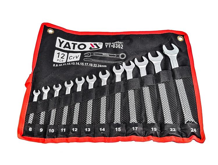 Купить Наборы инструментов, Набор инструментов Yato YT-0362 12 ед.
