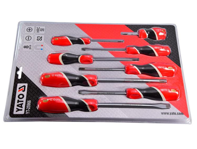 Купить Наборы инструментов, Набор инструментов Yato YT-25966 8 ед.