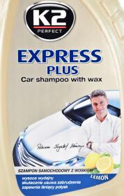 Автошампунь-полироль концентрат K2 Express Plus воск