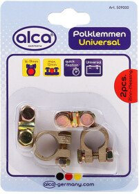 Клеммы АКБ Euro Type 1 Alca 509000