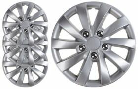 Комплект колпаков на колеса Carface Faro цвет серый