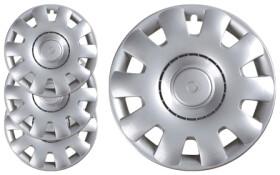Комплект колпаков на колеса Carface Aveiro цвет серый