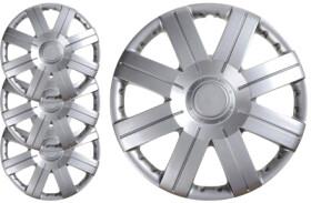 Комплект колпаков на колеса Carface Bravo цвет серый