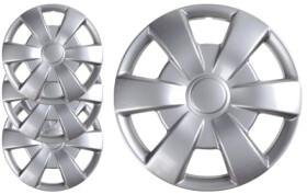 Комплект колпаков на колеса Carface Leon цвет серый