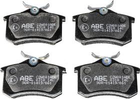 Тормозные колодки Abe C2W001ABE