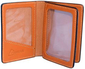 Обложка для прав и техпаспорта Poputchik 5164-1-051P без логотипа оранжевый