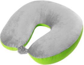 Подушка-подголовник VAG серо-зеленый Skoda 000087703JK