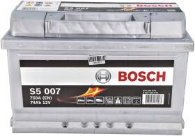 Аккумулятор Bosch 6 CT-74-R S5 Silver Plus 0092S50070