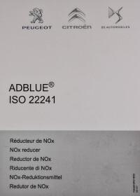 AdBlue Citroen / Peugeot