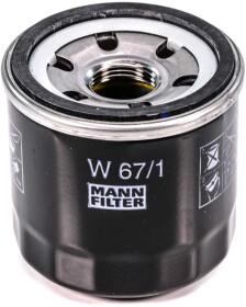 Масляный фильтр Mann W 67/1