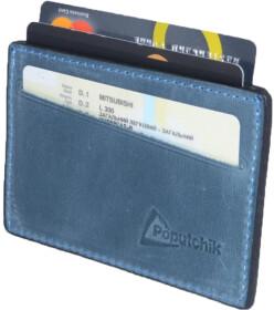 Картхолдер Poputchik 5014-053P без логотипа синий