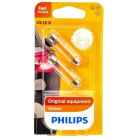 Лампа фонаря освещения номерного знака Philips 12866B2