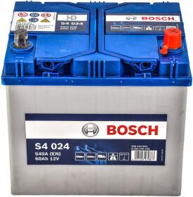 Аккумулятор Bosch 6 CT-60-R S4 Silver 0092S40240