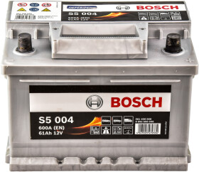 Аккумулятор Bosch 6 CT-61-R S5 Silver Plus 0092S50040