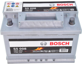 Аккумулятор Bosch 6 CT-77-R S5 Silver Plus 0092S50080