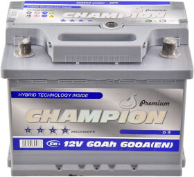 Аккумулятор Champion 6 CT-60-R Premium CHGP600