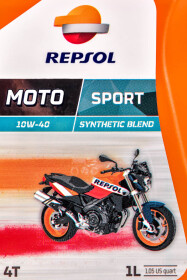 Моторное масло 4T Repsol Moto Sport 10W-40 полусинтетическое