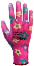 Перчатки рабочие Sigma трикотажные с полиуретановым покрытием розовый