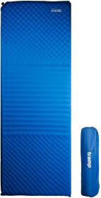 Самонадувной коврик Tramp TRI-018 цвет синий