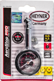 Аналоговый манометр Heyner AeroStop Pro 564200