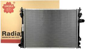Радиатор охлаждения двигателя Sakura 30911013