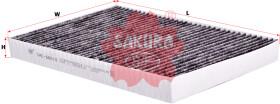 Фильтр салона Sakura CAC66010