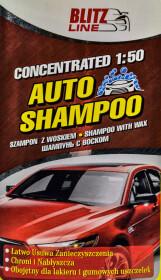 Автошампунь-полироль концентрат Blitz Line Auto-Wasch-Shampoo воск