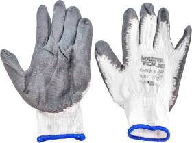 Перчатки рабочие MasterTool синтетические с нитриловым покрытием белые