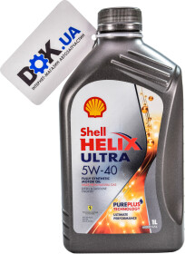 Моторное масло Shell Helix Ultra 5W-40 синтетическое