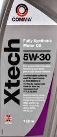 Моторное масло Comma Xtech 5W-30 синтетическое