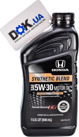 Моторное масло Honda Genuine Synthetic Blend 5W-30 полусинтетическое