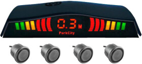 Парктроник ParkCity Madrid 418/113 с серыми датчиками 4 шт.