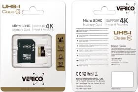 Карта памяти Verico microSDHC 16 ГБ