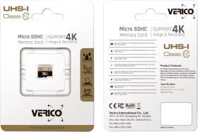 Карта памяти Verico Single Pack (без адаптера) microSDHC 32 ГБ