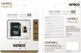 Карта памяти Verico microSDHC 8 ГБ